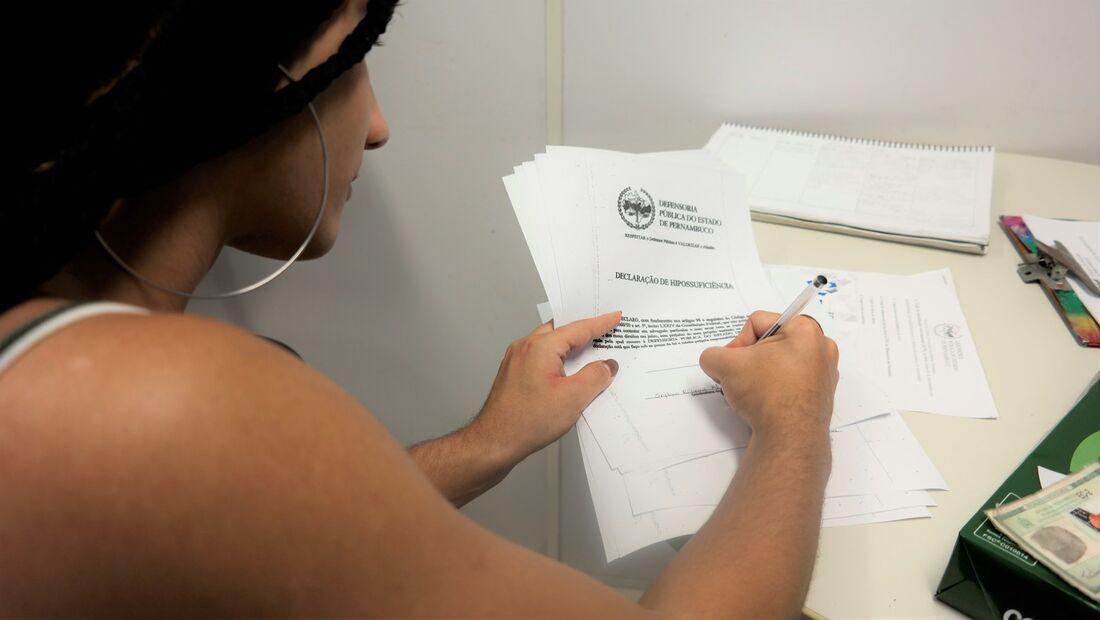 Mutirão de registro civil