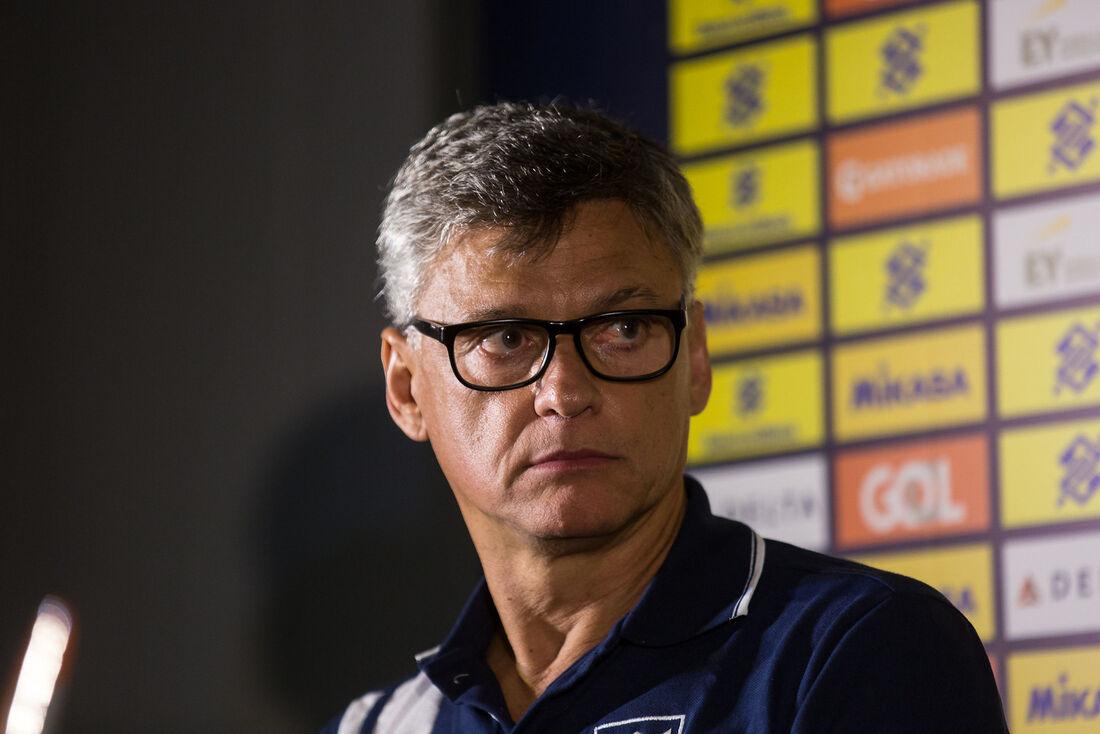 Renan dal Zotto, treinador da seleção brasileira de vôlei