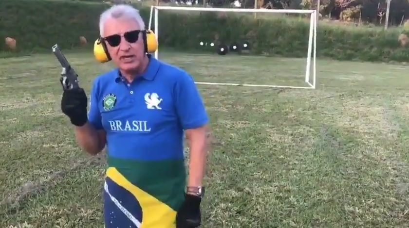 No vídeo, José Sabatini xinga Lula e diz que vai derramar seu próprio sangue