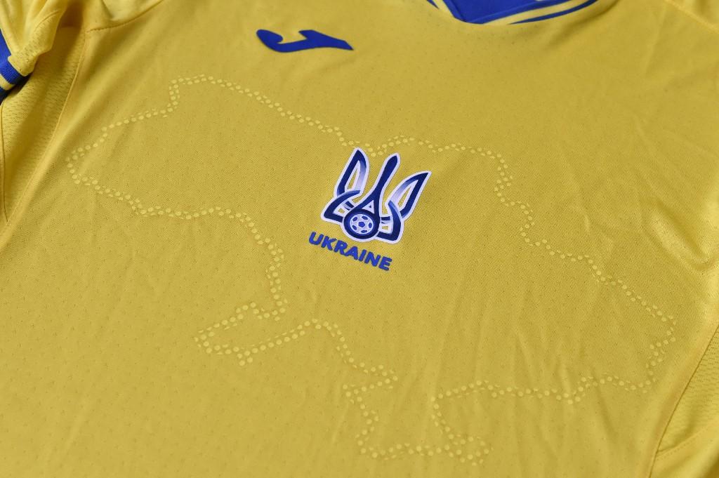 Camisa da seleção ucraniana para a Eurocopa