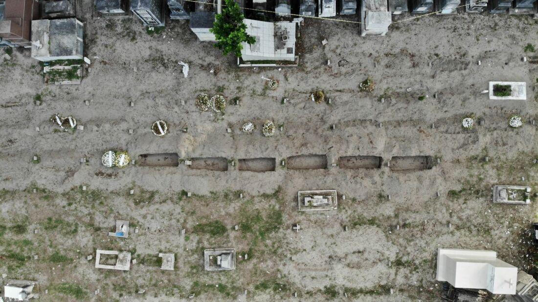 Cemitério em Pernambuco