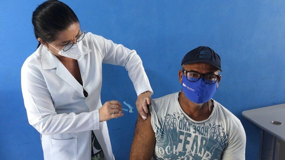 Vacinação contra a Covid-19 em Fernando de Noronha