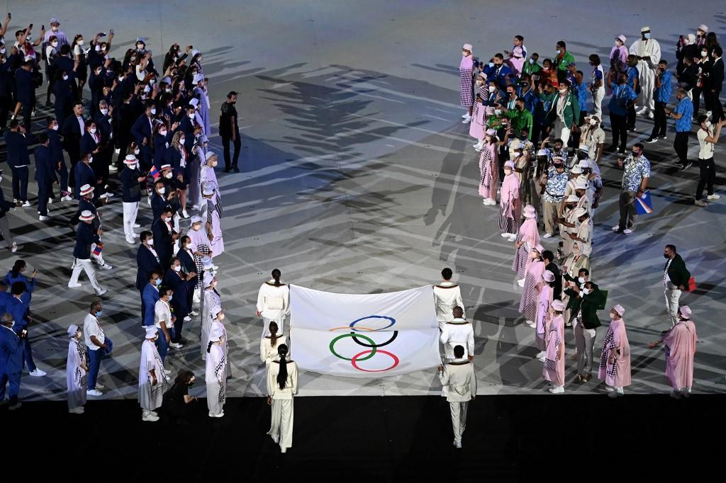 Cerimônia de abertura da Tóquio-2020