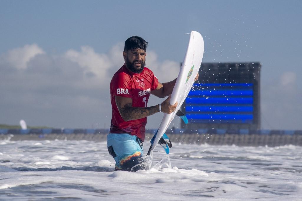 Ítalo Ferreira conquistou o ouro do surf