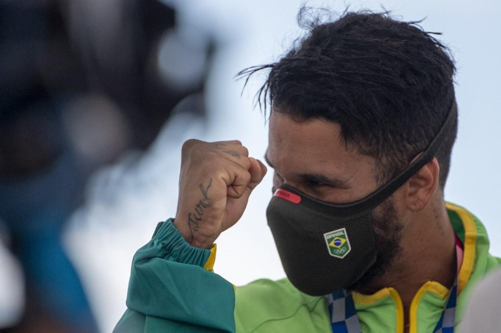 Ítalo Ferreira, medalha de ouro no surfe