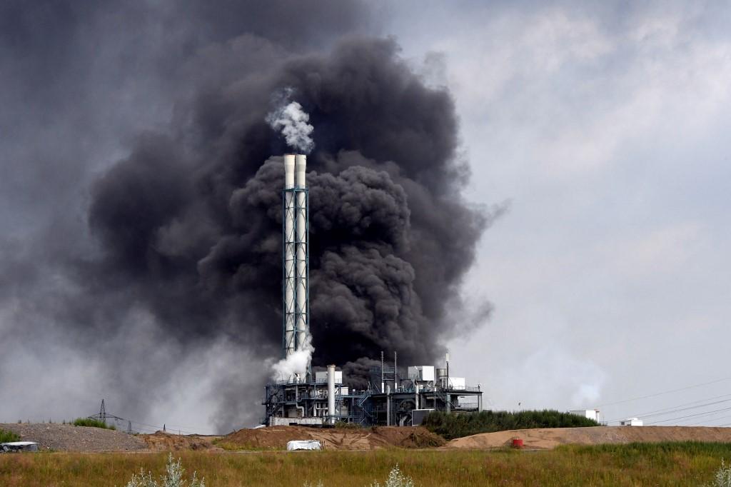 Explosão em parque industrial na Alemanha