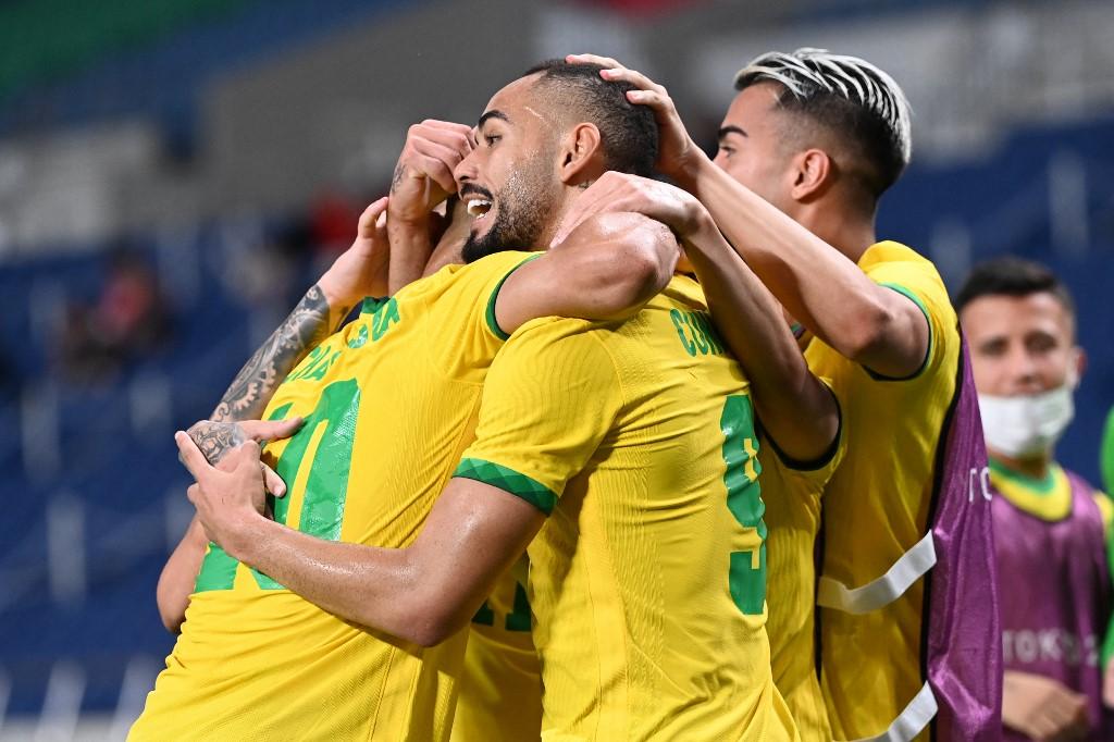 Brasil vence Egito nos Jogos Olímpicos