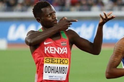 Odhiambo é o segundo atleta queniano a ter um controlo antidoping positivo durante os Jogos Olímpicos
