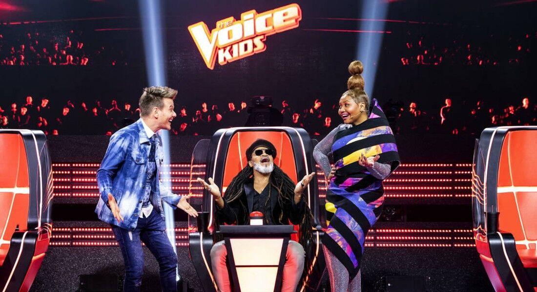 Michel Teló, Carlinhos Brown e Gaby Amarantos são os técnicos do The Voice Kids