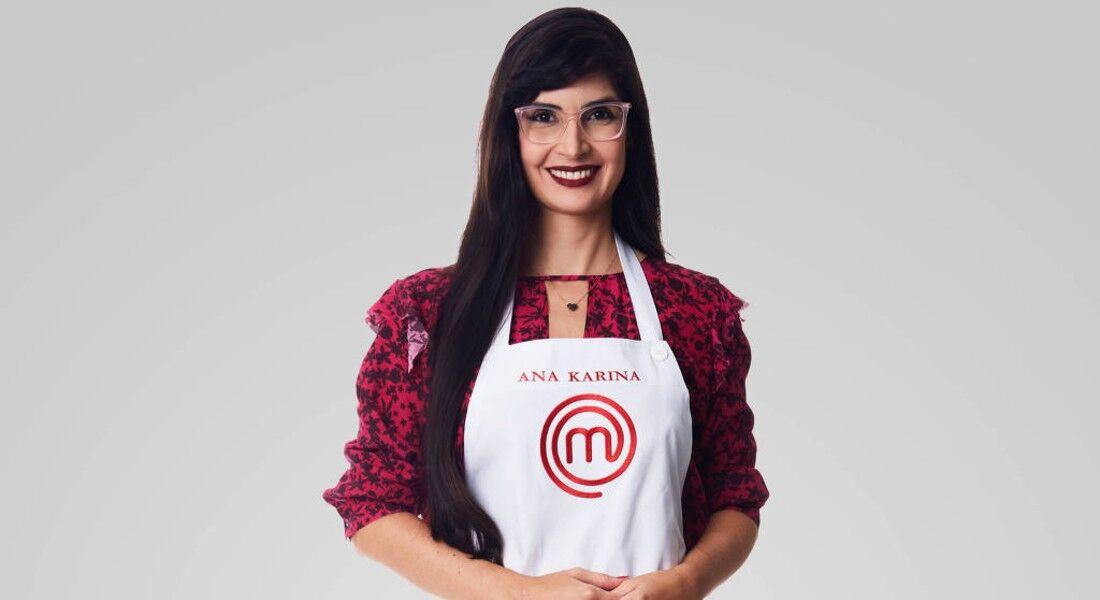 Pernambucana Ana Karina, 40 anos, no MasterChef