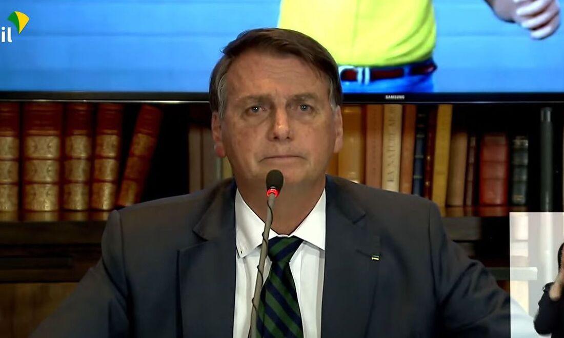 Coletiva do presidente da República, Jair Bolsonaro