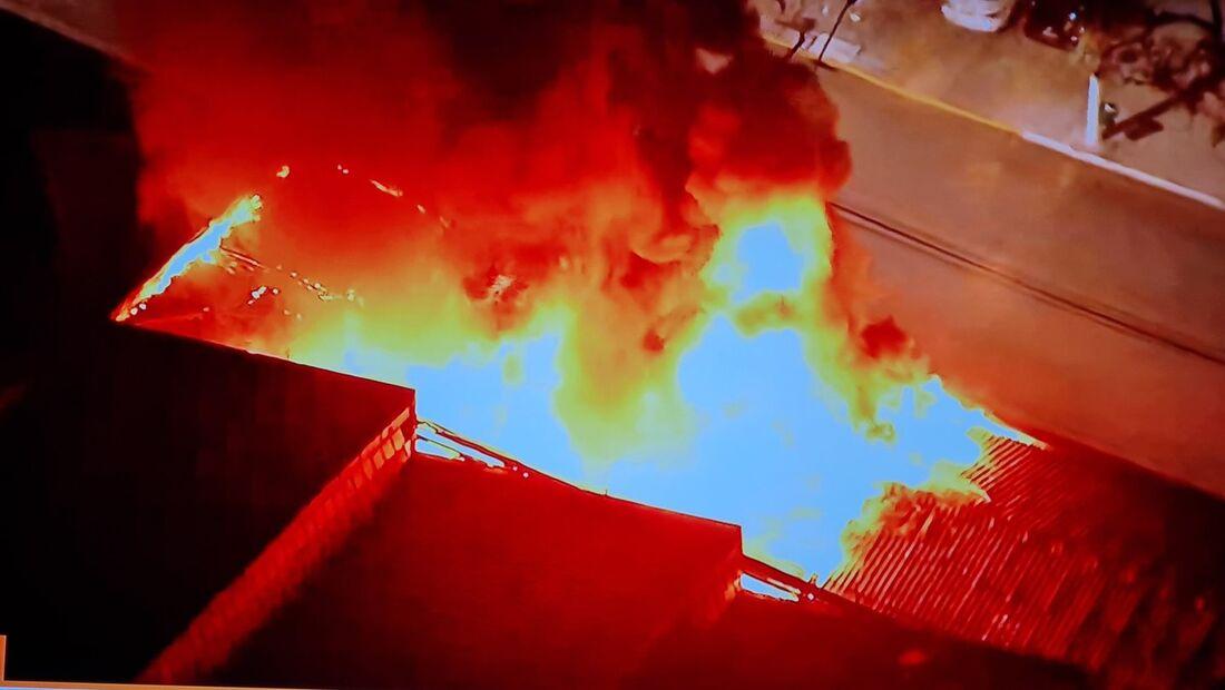 Incêndio atinge um depósito da Cinemateca Brasileira