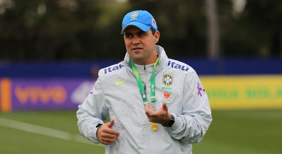 Jardine, treinador da Seleção Olímpica masculina