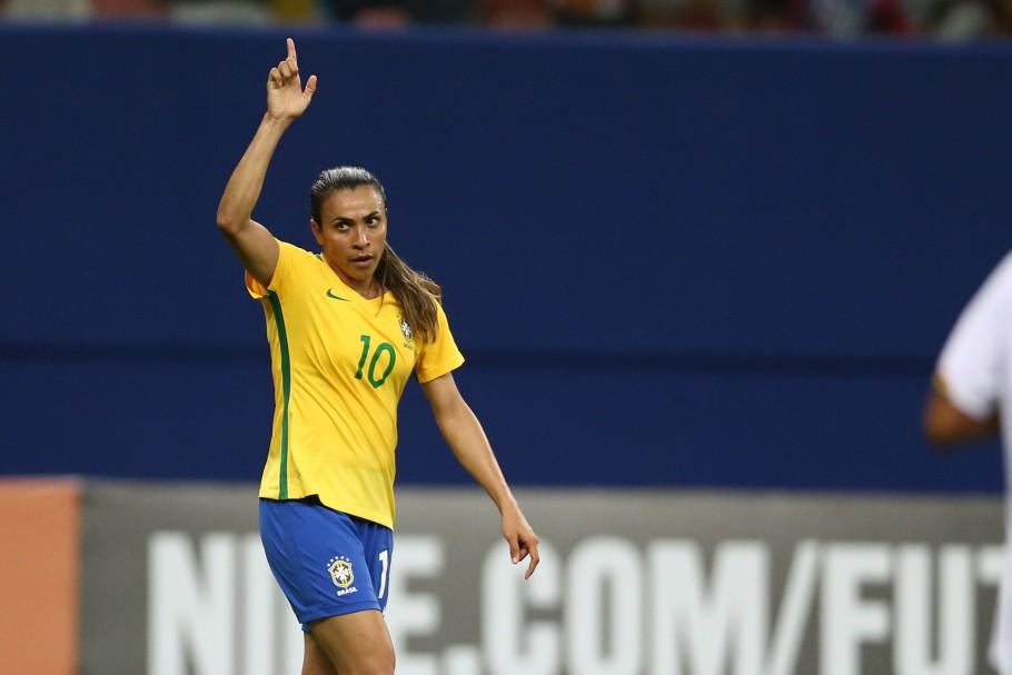Marta, camisa 10 da seleção feminina