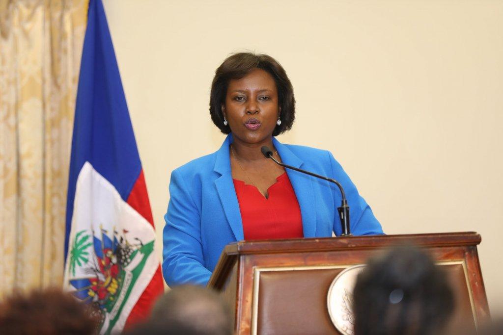 Martine Moise, primeira-dama do Haiti