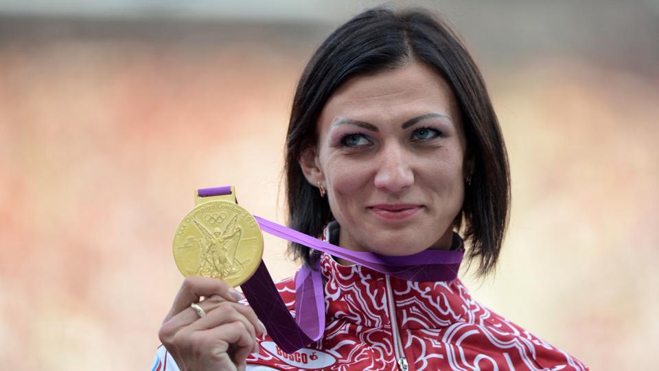 Natalya Antyukh, atleta russa pega no antidoping