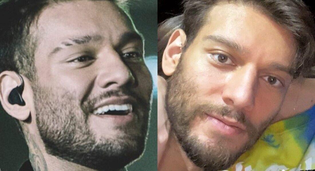 Lucas Lucco antes e depois de retirar produto de harmonização facial