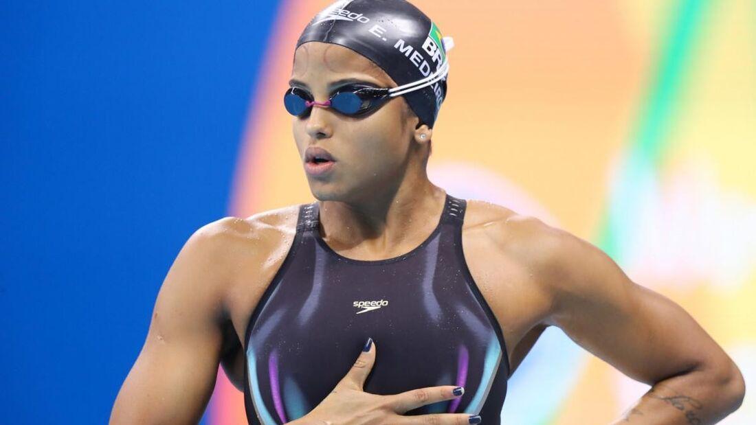 Etiene Medeiros, nadadora pernambucana