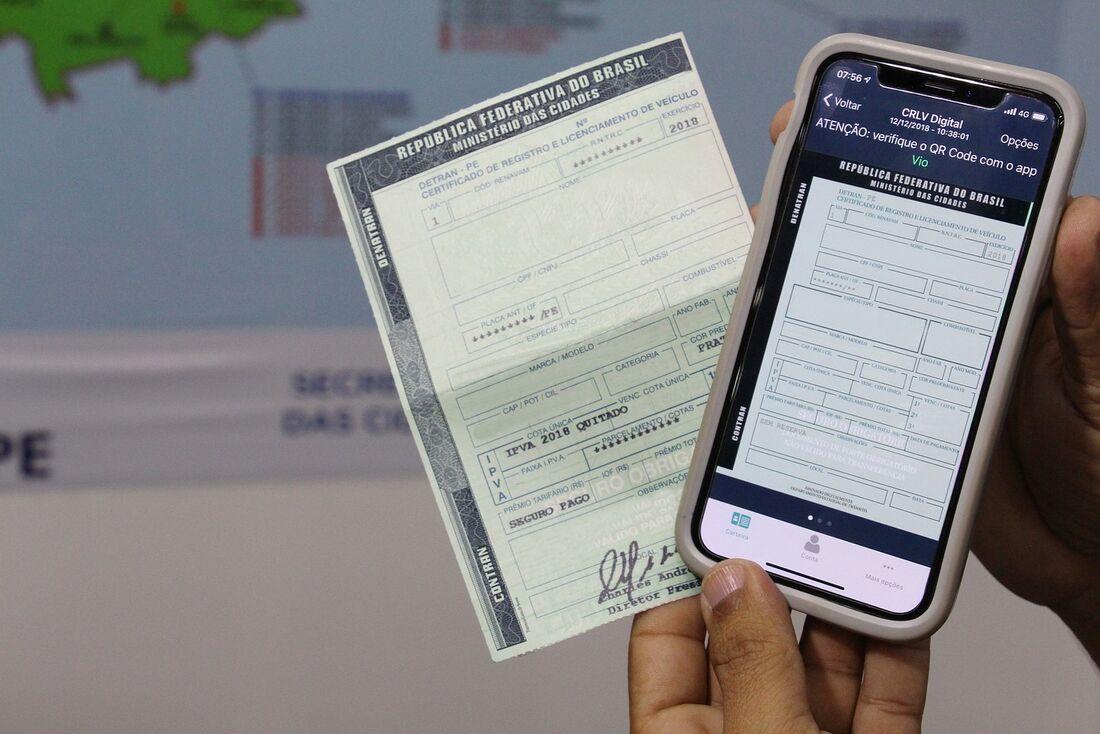 Carteira Nacional de Habilitação também está disponível no app