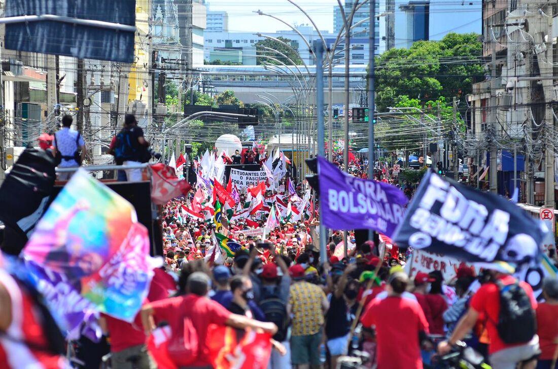 Manifestação Fora Bolsonaro