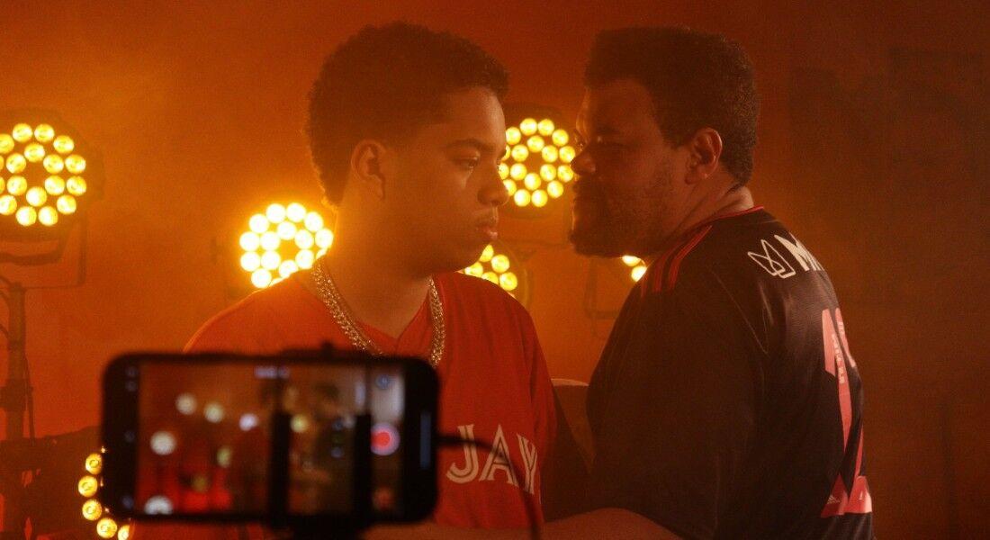 Babu Santana dirige novo clipe