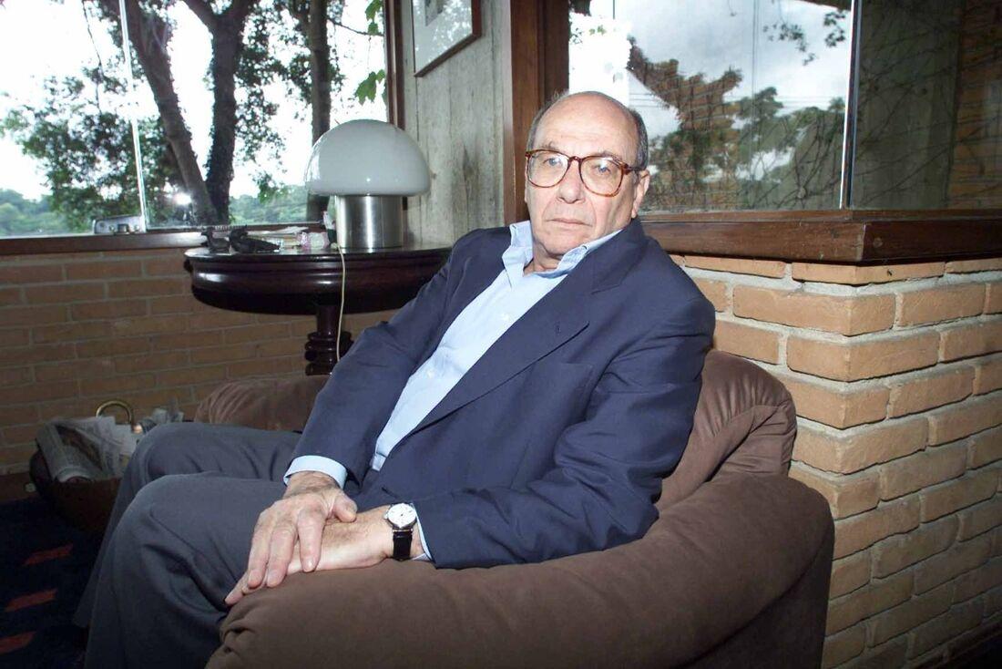 O filósofo José Arthur Giannotti. (São Paulo (SP), 06.12.2000. Digital.