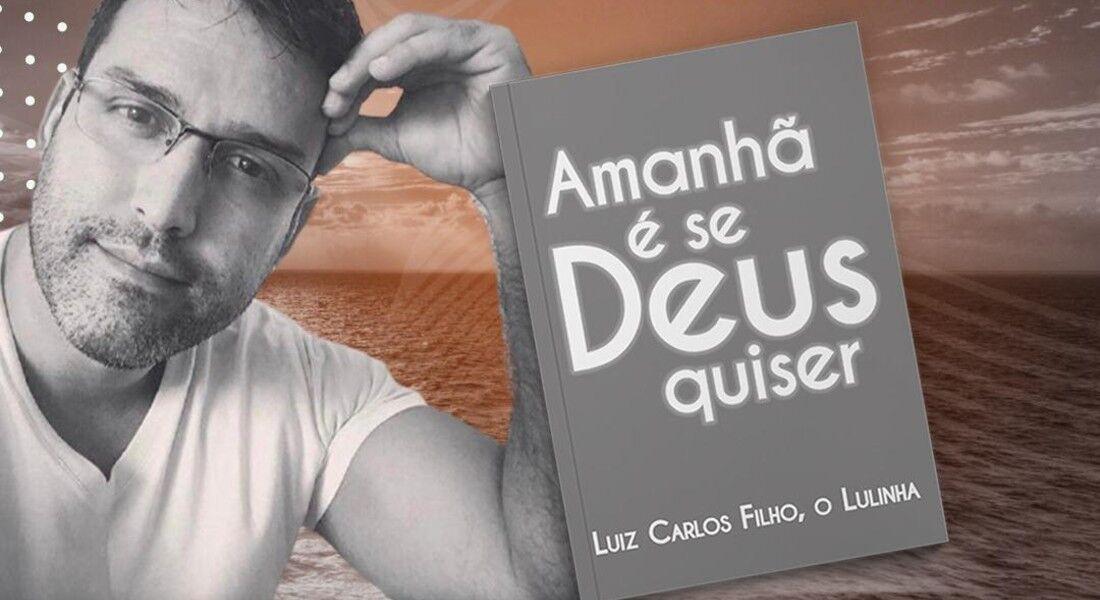 Lulinha, produtor cultural e escritor, lança livro em Caruaru