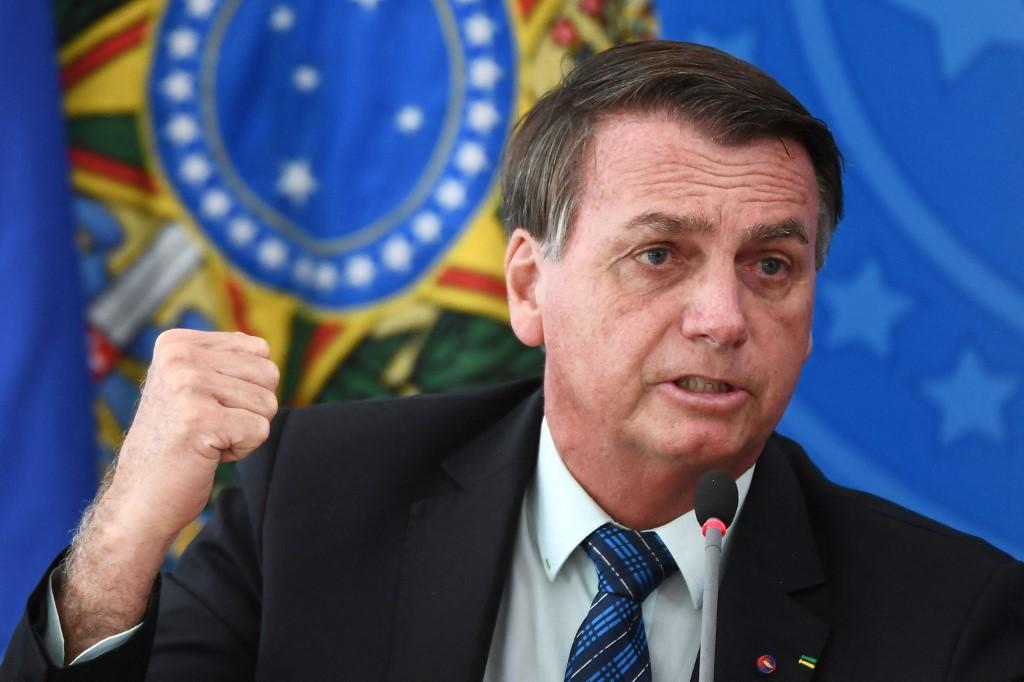 Crítica de Bolsonaro se refere ao fato de o inquérito das fake news -e a sua inclusão nesta quarta como investigado