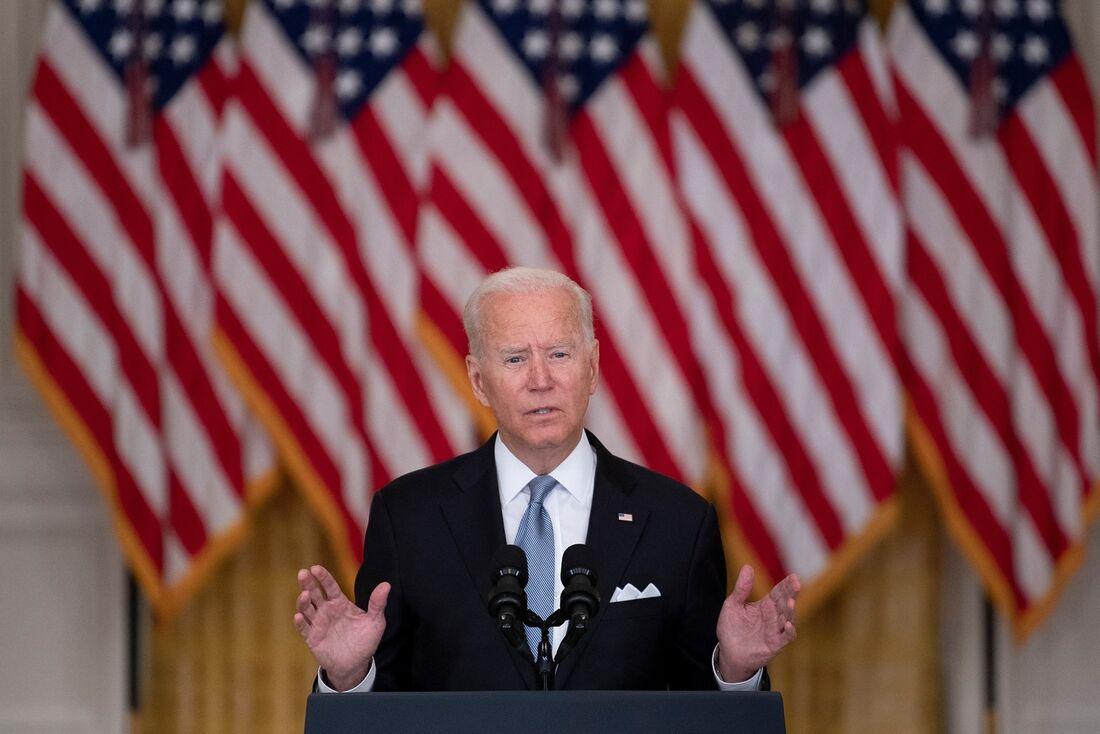 Presidente americano Joe Biden
