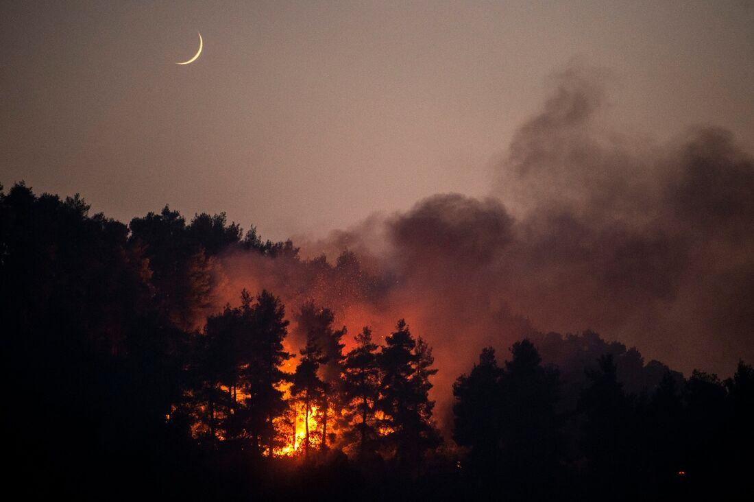 Incêndios na Grécia