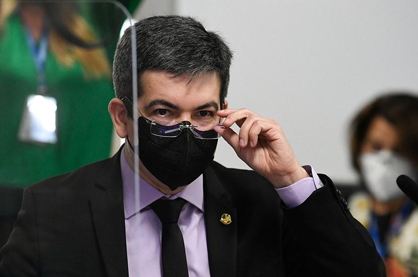 Vice-presidente da CPI da Covid, Senador Randolfe Rodrigues (Rede - AP)