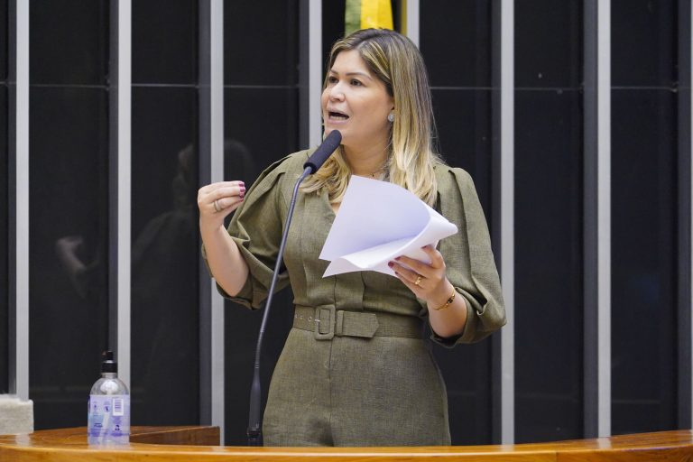 Aline Gurgel recomendou a aprovação da proposta