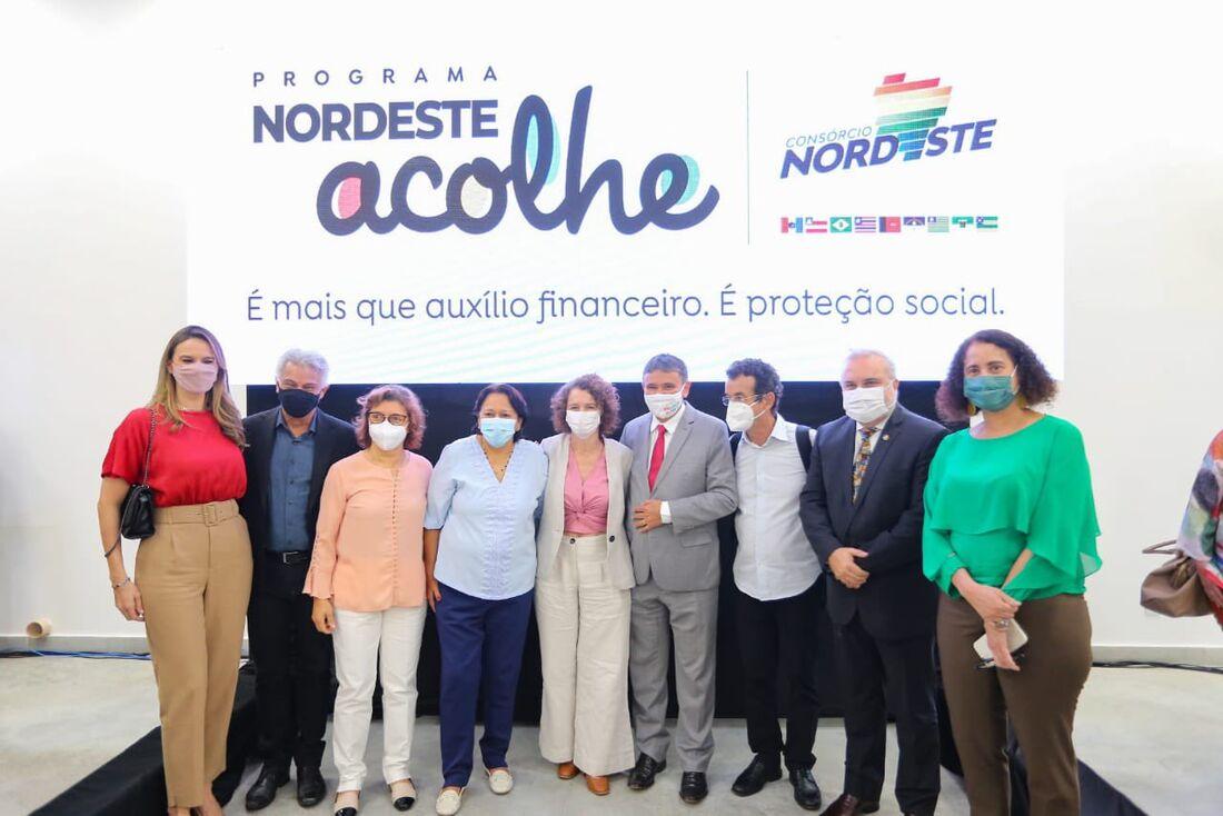 Lançamento do programa Nordeste Acolhe, em Natal