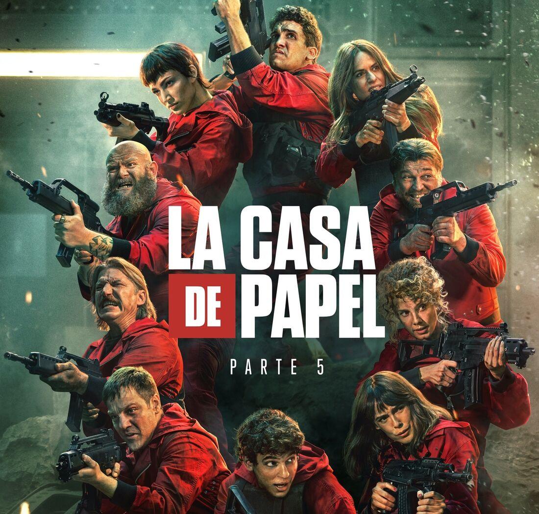 """Netflix divulga trailer de """"La Casa de Papel - Parte 5: Vol. 1""""; assista -  Folha PE"""