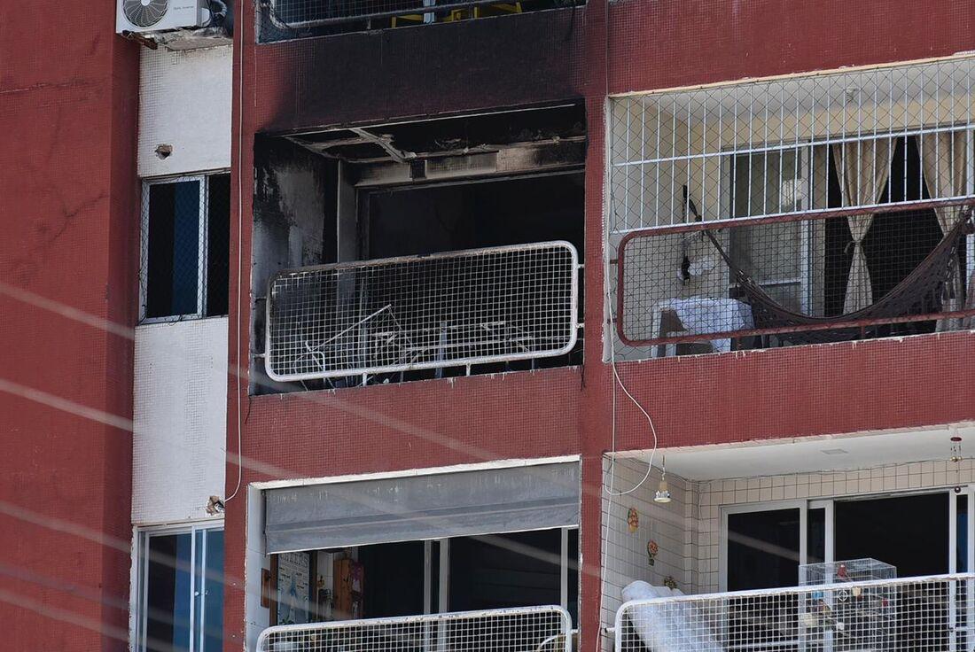 Incêndio ocorreu em prédio em Boa Viagem