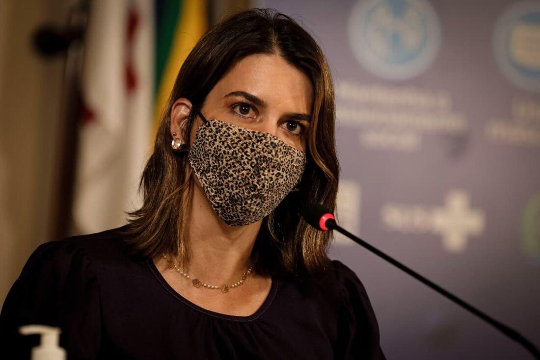 Secretária Ana Paula Vilaça