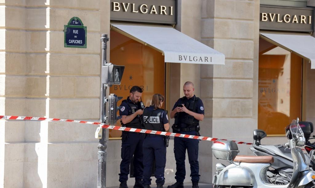 Loja da Bulgari em Paris, capital francesa