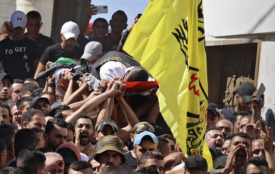 Vítima do exército de Israel na Palestina