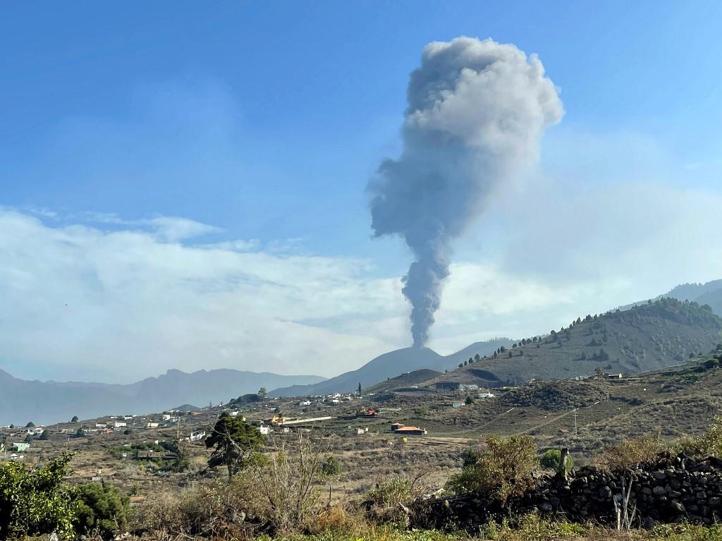 Erupção do Cumbre Vieja, nas Canárias