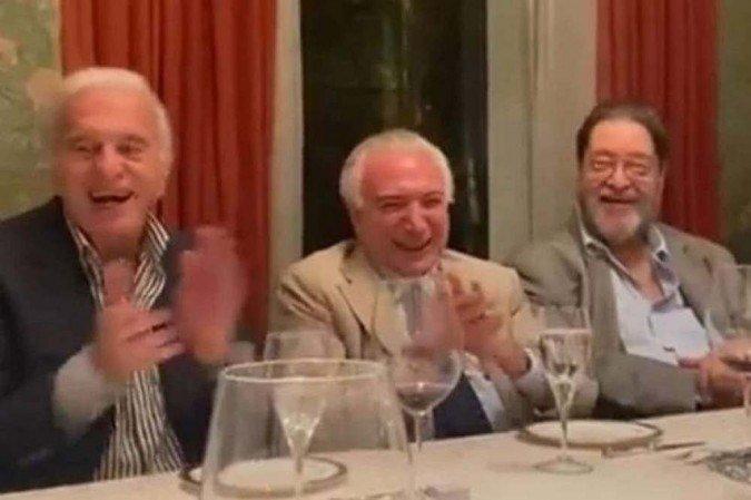 O encontro foi na casa de Naji Nahas, amigo de Temer, em São Paulo