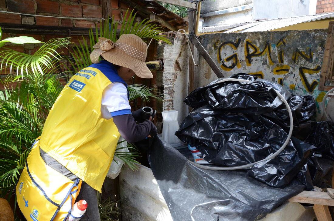 Prefeitura do Recife envia agentes de saúde em locais com maior número de infestação do mosquito