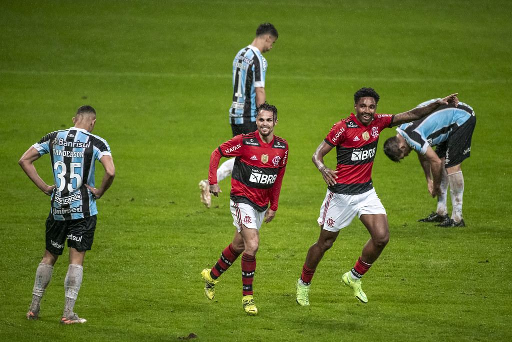 Flamengo venceu a primeira partida por 0x4, no Rio Grande do Sul