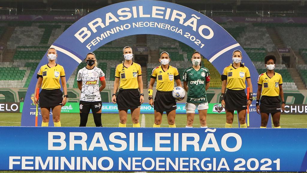 Corinthians e Palmeiras decidem o Brasileirão Feminino