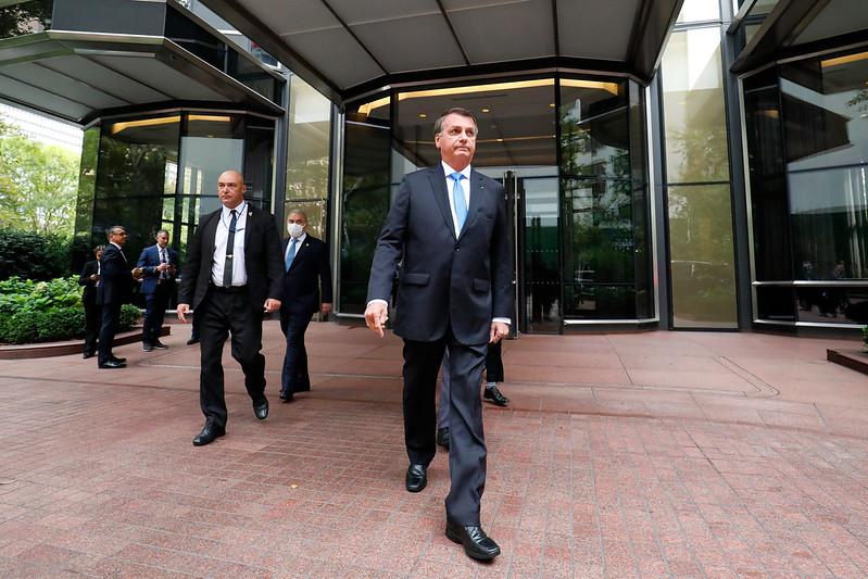 Bolsonaro em Nova Iorque, para conferência da ONU