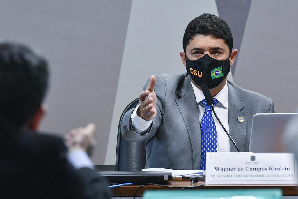 Ministro da Controladoria-Geral da União, Wagner Rosário