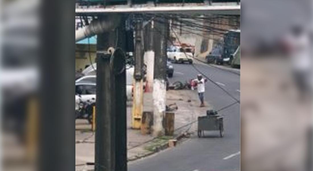 Assassinato ocorreu à luz do dia na avenida Beberibe