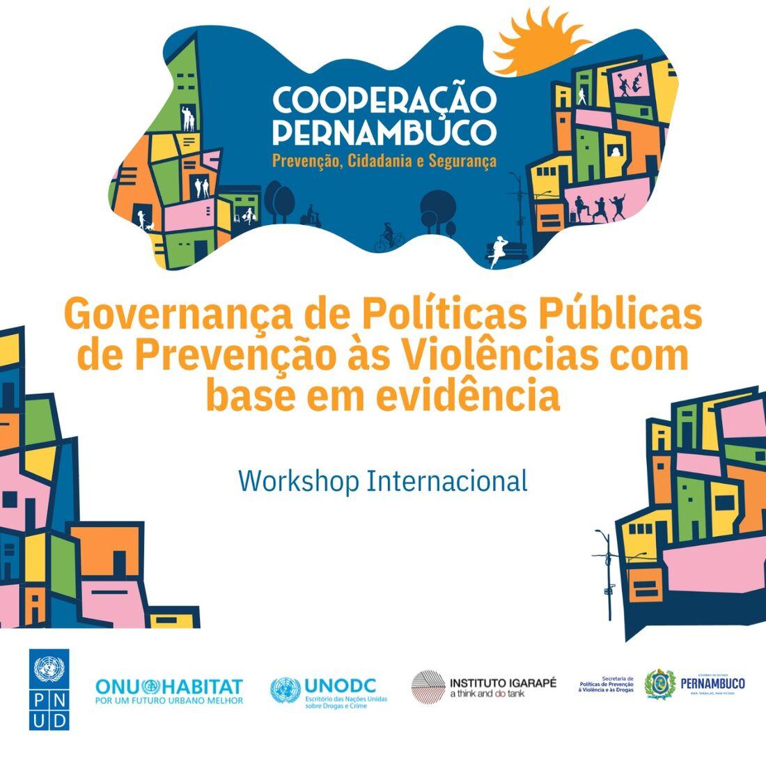 Workshop reinaugura política de Prevenção ao crime e à violência de Pernambuco