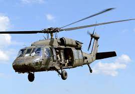Piloto foi resgatato por helicóptero H-60 Black Hawk