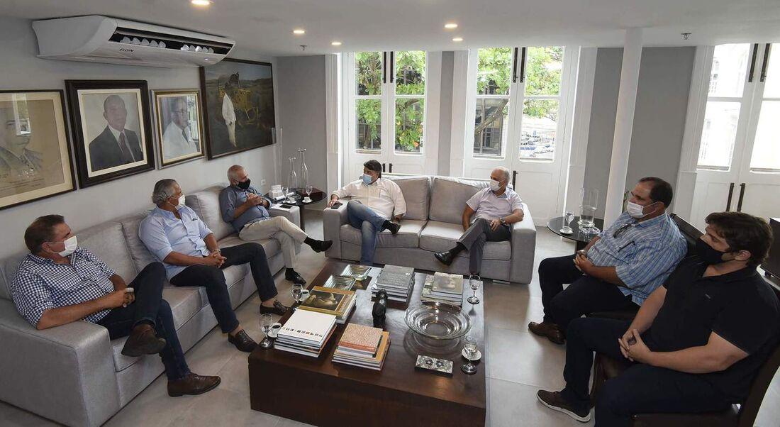Empresários visitaram a Folha para divulgar os eventos e promover a pecuária pernambucana