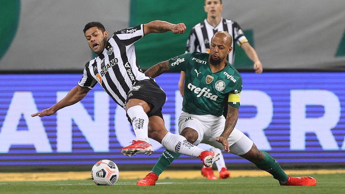 Lances de Palmeiras x Atlético/MG